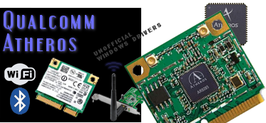 QUALCOMM / ATHEROS drivers for Microsoft Windows (Atheros的驅動程序)
